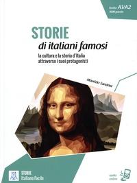 Maurizio Sandrini - Storie di italiani famosi - La cultura e la storia d'Italia attraverso i suoi protagonisti. Livello A1/A2 1000 parole.