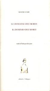 Mauro Fabi - Le domaine des morts.