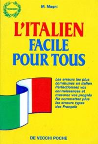 Mauro Magni - L'italien facile pour tous.