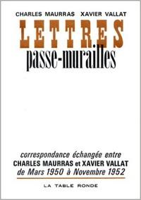 Maurras et  Vallat - .
