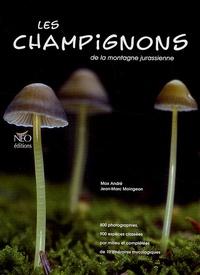 Max André et Jean-Marc Moingeon - Les champignons de la montagne jurassienne.