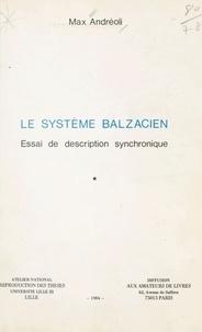 Max Andréoli - Le système balzacien : essai de description synchronique (1).