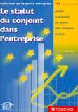 Max Artuso - Le statut du conjoint dans l'entreprise - Assurer la protection du conjoint dans l'entreprise familiale.