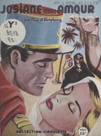 Max d'Amplaing - Josiane mon amour.
