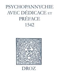 Max Engammare et Laurence Vial-Bergon - Recueil des opuscules 1566. Psychopannychie avec dédicace et préface (1542).