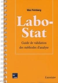 Max Feinberg - Labo-Stat - Guide de validation des méthodes d'analyse.