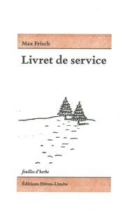 Max Frisch - Livret de service.