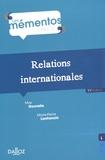 Max Gounelle et Marie-Pierre Lanfranchi - Relations internationales.