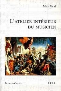 Max Graf - Atelier interieur du musicien.