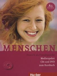 Angela Pude et Sabine Glas-Peters - Menschen A1 : A1.1 + A1.2 - Deutsch als Fremdsprache Medienpaket. 4 Cédérom