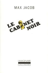 Max Jacob - LE CABINET NOIR. - Lettres avec commentaires.