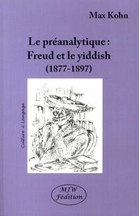 Histoiresdenlire.be La préanalytique - Freud et le yiddish (1877-1897) Image