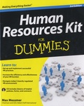 Max Messmer - Human Resources Kit for Dummies. 1 Cédérom