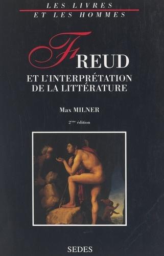Freud et l'interprétation de la littérature