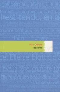 Max Obione - Boulette.