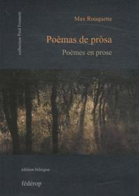 Max Rouquette - Poèmes en prose.