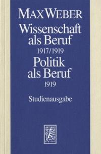 Max Weber - Wissenschaft Als Beruf.