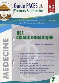 Maxence Lefebvre de Rieux - UE1 Chimie Organique.
