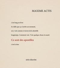 Maxime Actis - Ce sont des apostilles.