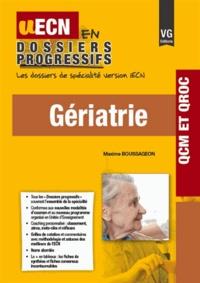 Maxime Boussageon - Gériatrie.