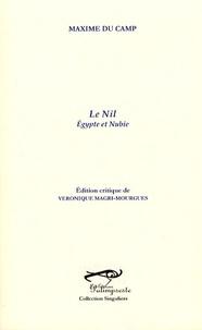 Maxime Du Camp - Le Nil - Egypte et Nubie.