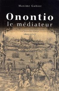 Deedr.fr Onontio le médiateur - La gestion des conflits amérindiens en Nouvelle-France (1603-1717) Image