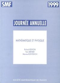 Maxime Kontsevich et Richard Kenyon - Mathématique et physique.