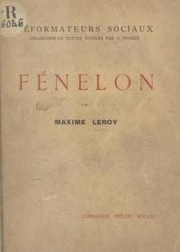 Maxime Leroy et Célestin Bouglé - Fénelon.