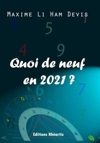Maxime Li Ham Devis - Quoi de neuf en 2021 ?.