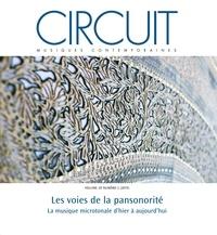 Maxime McKinley et Paul Bazin - Circuit. Vol. 29 No. 2, 2019 - Les voies de la pansonorité, La musique microtonale d'hier à aujourd'hu.