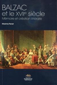 Balzac et le XVIIe siècle - Mémoire et création littéraire.pdf