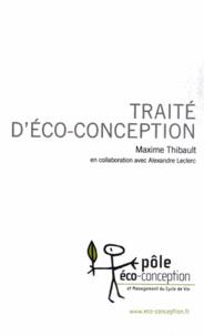 Maxime Thibault - Traité d'éco-conception.