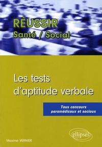 Maxime Vernier - Les tests d'aptitude verbale.