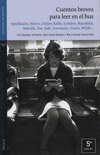 Maximiliano Tomas - Cuentos breves para leer en el bus.