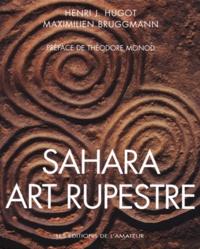 Maximilien Bruggmann et Henri-J Hugot - Sahara - Art rupestre.