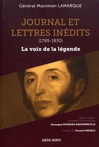 Galabria.be Journal et lettres inédits (1789-1830) - La voix de la légende Image