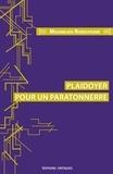Maximilien Robespierre - Plaidoyer pour un paratonnerre.