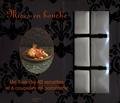 Maya Barakat-Nuq - Mises en bouche - Avec six coupelles en porcelaine blanche.