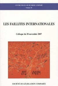 Maya Boureghda - Les faillites internationales - Colloque du 30 novembre 2007.