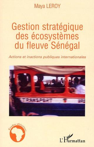 Maya Leroy - Gestion stratégique des écosystèmes du fleuve Sénégal - Actions et inactions publiques internationales.