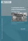 Maya Leroy - La participation dans les projets de développement : une analyse critique.