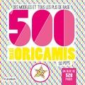 Mayumi Jezewski - 500 maxi origamis so peps - Des modèles et tous les plis de base.