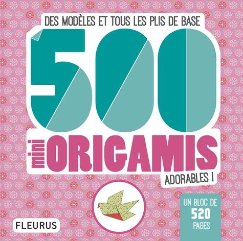 Mayumi Jezewski - 500 mini origamis adorables ! - Des modèles et tous les plis de base.