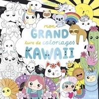 Mayumi Jezewski - Mon grand livre de coloriages kawaii.