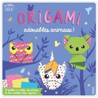 Mayumi Jezewski - Origami adorables animaux ! - Avec 50 feuilles à motifs, des stickers et des modèles trop mignons !.