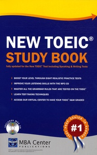 MBA Center - New TOEIC Study Book. 1 CD audio MP3