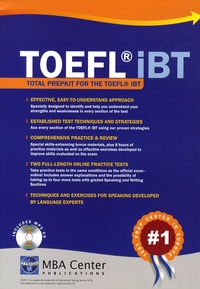 MBA Center - Total Prepkit for the TOEFL IBT. 1 CD audio MP3