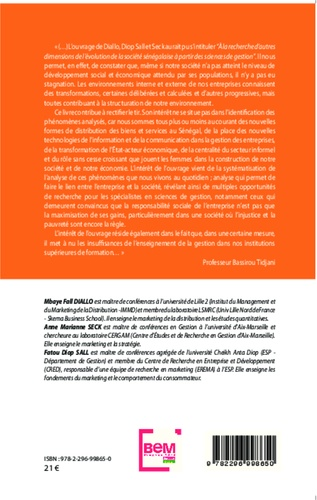 Gestion des activités publiques et privées en milieu africain. L'exemple du Sénégal