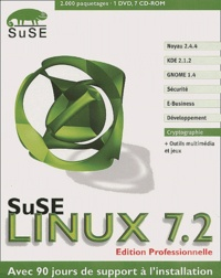 SuSE Linux 7.2 - Edition Professionnelle, 7 CD-ROM.pdf