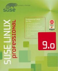 SuSe - SuSe Linux 9.0 Professional - CD-ROM, édition britannique.